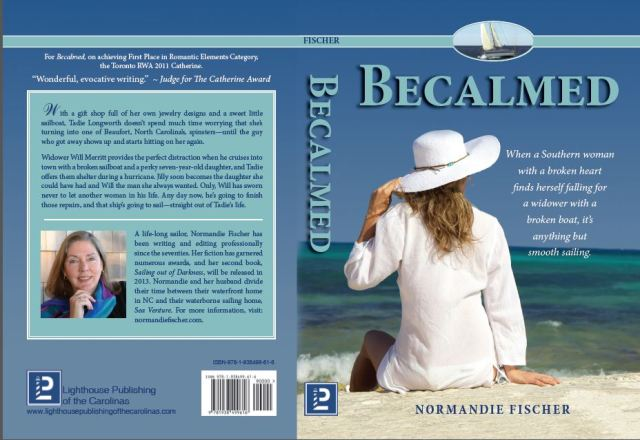Front and back cover, Becalmed